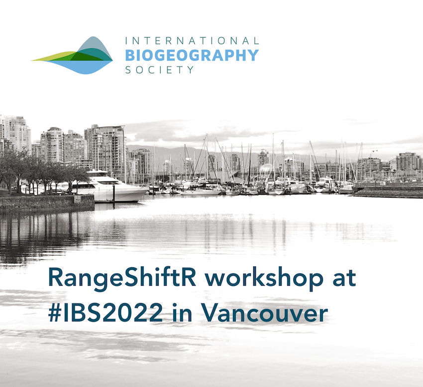 RangeShiftR workshop at IBS 2022